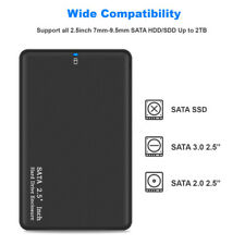 2TB USB 3.0 Portable External Hard Drive Ultra SATA Storage Devices Case Box