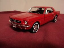 Welly 1964 1/2 Ford Mustang Coupe 1/24 scale used no box