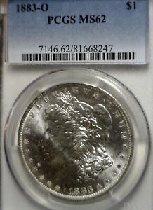 1883o VAM 28o ERROR PCGS MS62 Morgan $1 Dollar BU + Coin Repunched 3/3 Date   NR