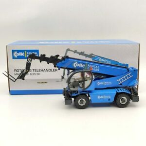 ROS 1:32 Magni RTH 6.35 SH Rotating Telehandler Blue Diecast Models Collection