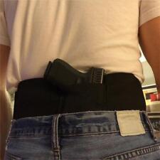 Tactical Elastic Belly Band Waist Pistol Gun Holster Concealed Carry Belt DB