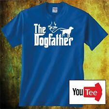Mens NEW Blue T Shirt Size XL The Dog Father Labrador Birthday Joke Gift
