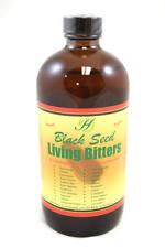 Black Seed Living Bitters Real Bitter Energy Detox Health Herb Beverage 16 oz
