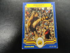 1986 SCANLENS CARD NO.41 PETER KNIGHTS HAWTHORN