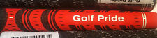 New Midsize Golf Pride MultiCompound New Decade Black/RED Golf Grip **FLASH SALE