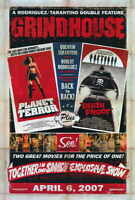 """GRINDHOUSE"" Movie Poster [Licensed-NEW-USA] 27x40"" Theater Size Tarantino 2007"