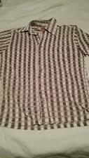Vintage 1960-70's Sears Kings Road Button down Rockabilly Med. preowned