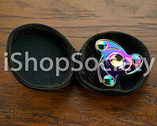 Rainbow Tri-Spinner Fidget Spinners EDC Figet Hand Anxiety Focus Toy ADHD -USA