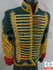Dolman Colonel Hunter on horseback of the guard Hussar Military Tunic Jacket