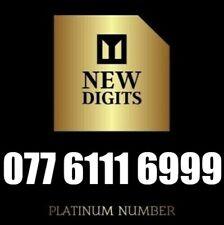 GOLD PREMIUM VIP BUSINESS MOBILE PHONE NUMBER DIAMOND PLATINUM SIM CARD 111 999