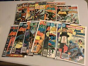 DC Comics ! The Brave And The Bold ! Big 16 Book Lot ! Silver-Bronze Age !