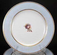 Flight Barr & Barr Hand Painted Cornucopia Early Worcester Set of 6 Plates