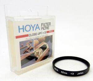 Hoya 52mm Close-Up +3 Screw In Filter - Boxed, UK Dealer