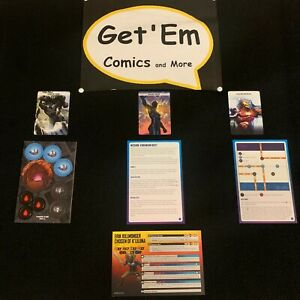 Marvel Crisis Protocol Vibranium Heist Organized Play Kit