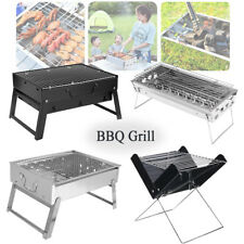 Outdoor Portable Barbecue BBQ Grill Folded Charcoal Cooking Picnic Camping Oven