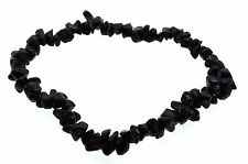 Black Spinel Gemstone chip bracelet