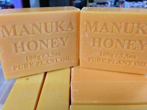 Manuka Honey soap. Pack of 5 100 gram bars. Australian Made product.