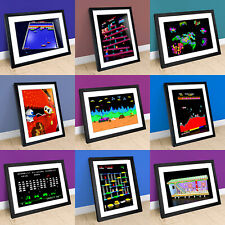 Retrogames Arcade Game 3D Prints & Framed Prints - Retrogaming 8-bit Exclusive!