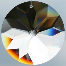 "Kristall Glas Pendel 40mm Tropfen Anhänger Sonne Suncatcher ""Regenbogenkristall"""