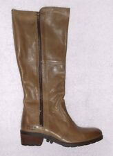 PALLADIUM bottes zippées  cuir vert P 41  TBE
