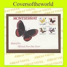 Butterflies Montserratian Stamps