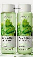 Oriflame Love Nature Aloe Vera Cleansing Gel & Toner