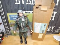 Vintage Action Man German Stormtrooper. first issue with palitoy star box n/mint