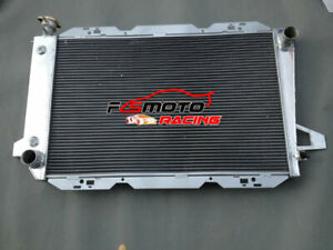 3 Row Aluminum Radiator for 1983-1997 Ford F100 F150 F250 F350 Bronco V8 AT MT