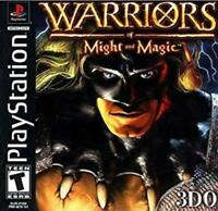 Warriors Of Might And Magic Playstation 1 Game PS1 Used Complete