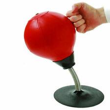 Desktop Punch Punching Speed Ball Stress Buster Freestanding Boxing Bag Kit