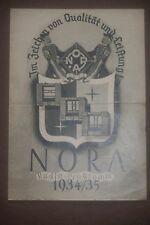 """Nora-radio GmbH-Berlín Charlottenburg 1935-likra sol montaña"