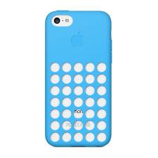 Genuine Apple iPhone 5c Silicone Case Various Colours Blue