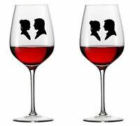 9 x Star Wars PRINCESS LEIA & HAN SOLO Vinyl Decal Wine Glass stickers