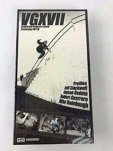 "Aggressive Inline VHS ""VG XVII ""VID 5 Rollerblade Vintage Brand New Skate"