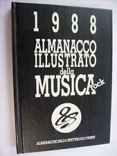 ALMANACCO ILLUSTRATO DELLA MUSICA ROCK PANINI 1988