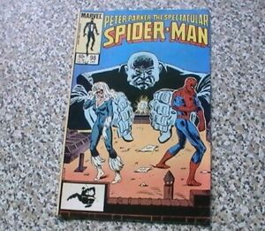 THE SPECTACULAR SPIDER-MAN # 98 - 1ST SPOT