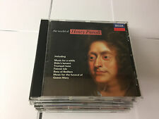 The World of Henry Purcell Henry Purcell, Sir Anthony Lewis Benjamin Britten CD