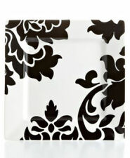 Martha Stewart Collection Lisbon Black Square Salad Plate NEW , Open Stock