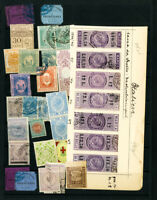 Italy Stamps Revenue 35x Diff on Antique page Many Very Scarce