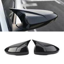 Pair Carbon Fiber Look Rear View Mirror Cover Trim For Honda Accord 2018 2021 Fits Honda