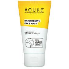 Acure, Brightening Face Mask, 50 ml ~ vegan ~ Argan Extract & Chlorella