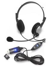 ANDREA ELECTRONICS NC-185 VM USB High Fidelity Stereo Headset