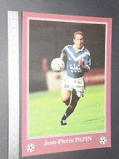 RARE J-P. PAPIN JPP LESCURE GIRONDINS BORDEAUX FOOTBALL CPA FRANCE 1996-1997