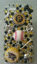 Pittsburgh Pirates MLB bling case 4 iPhone 4s,5,5s,5c,6,Samsung Galaxy S3,S4&S5