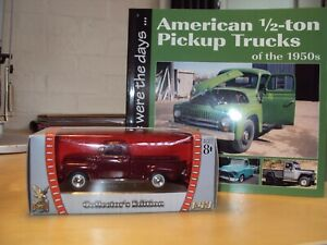 1:43 DIECAST GMC PICKUP BY ROAD SIGNATURE NEW + BOOK PICK UP TRUCKS OF THE 50's