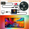 dIY Colorful Backlight WS2812B LED Strip For PC Monitor Laptop TV Lighting USB