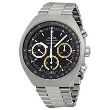 Omega Speedmaster Mark II Rio 2016 Olympics Edition Chronograph Black Dial