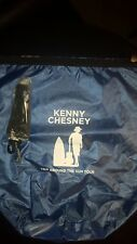 """New Kenny Chesney Trip Around The Sun Tour 2018 Blue Backpack Bag 16""""x15"""""""