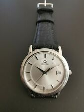 Omega DeVille Prestige Quartz Watch Stainless Steel Silver Dial 34mm