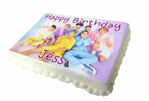 BTS Birthday Cake Topper